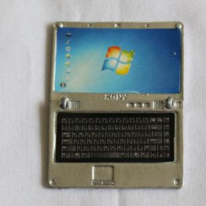 Laptop Silver Metal