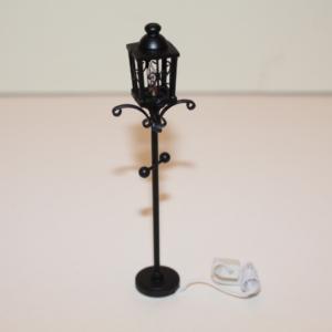 Black Garden lamp