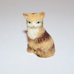 Ginger sitting cat